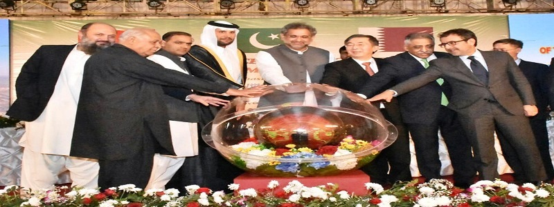 Honourable Prime Minister Shahid Khaqan Abbasi inaugurated the first unit (660 MW) of 1320 MW Port Qasim Coal-Fired Power Project